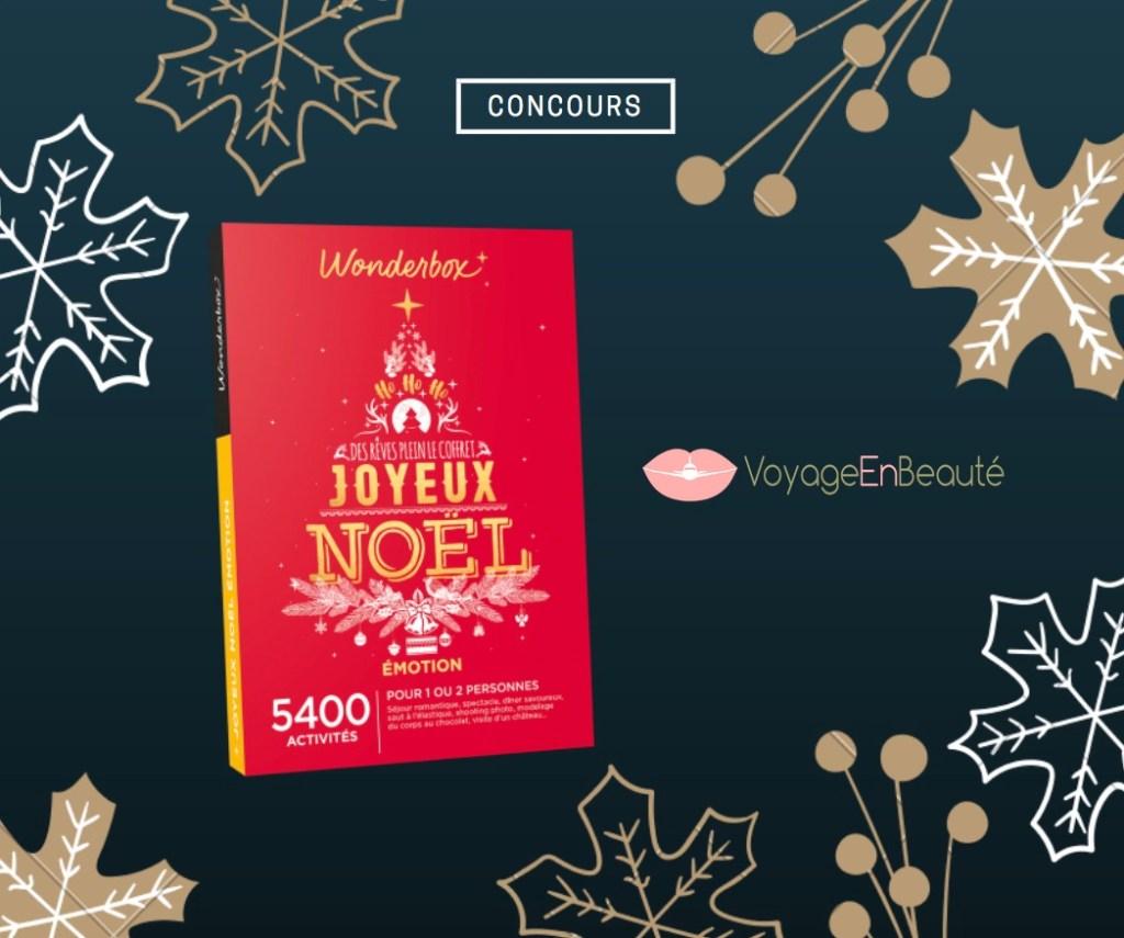 concours-cadeau-wonderbox-noel-voyage-beaute