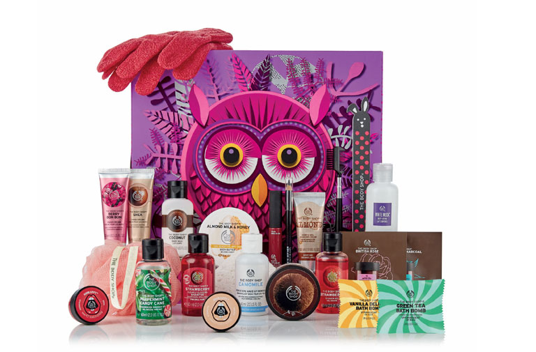 calendrier-avent-beaute-2018-noel-the-body-shop-promo-bon-plan-blog-voyage-en-beaute