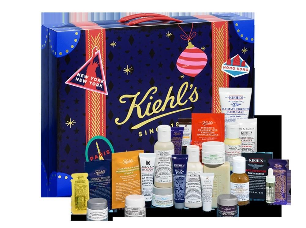 calendrier-de-l-avent-khiels-2018-beaute-code-promo-contenu