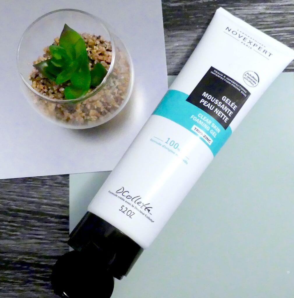 gelee-moussante-peau-nette-trio-zinc-novexpert-avis-test