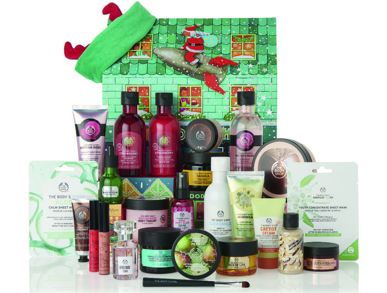 Calendrier de l'Avent Beauté 2019 The Body Shop Ultimate contenu prix promo