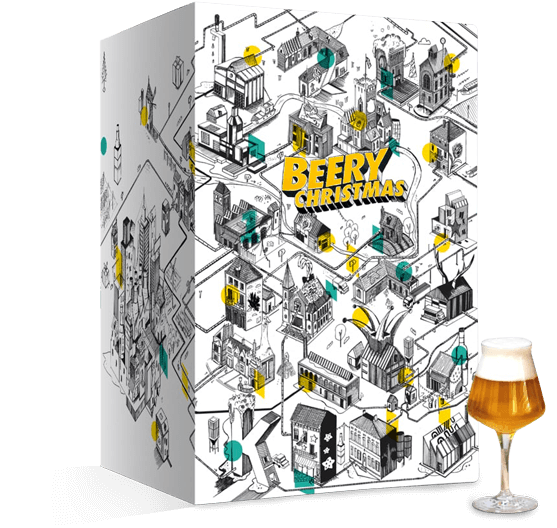 Contenu et Code promo calendrier de l'Avent bieres Beery Christmas 2020