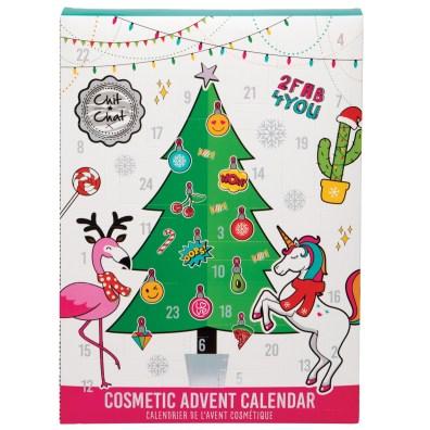 Calendrier de l'Avent maquillage chit chat 2020 : avis, contenu, code promo ! (et spoiler)