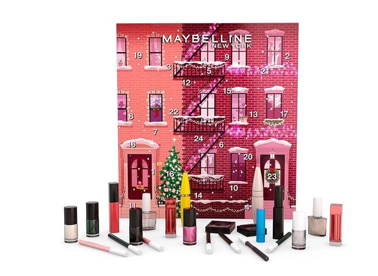 calendrier de l'avent Maybelline Maquillage 2020