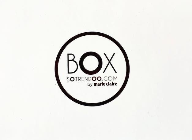 Box beauté sotrendoo by marie claire avis promo