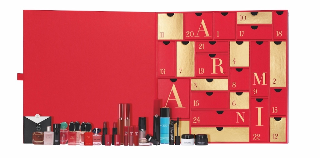 Calendrier de l'Avent Beauté 2020 Armani Beauty : avis, contenu, code promo ! (et spoiler)