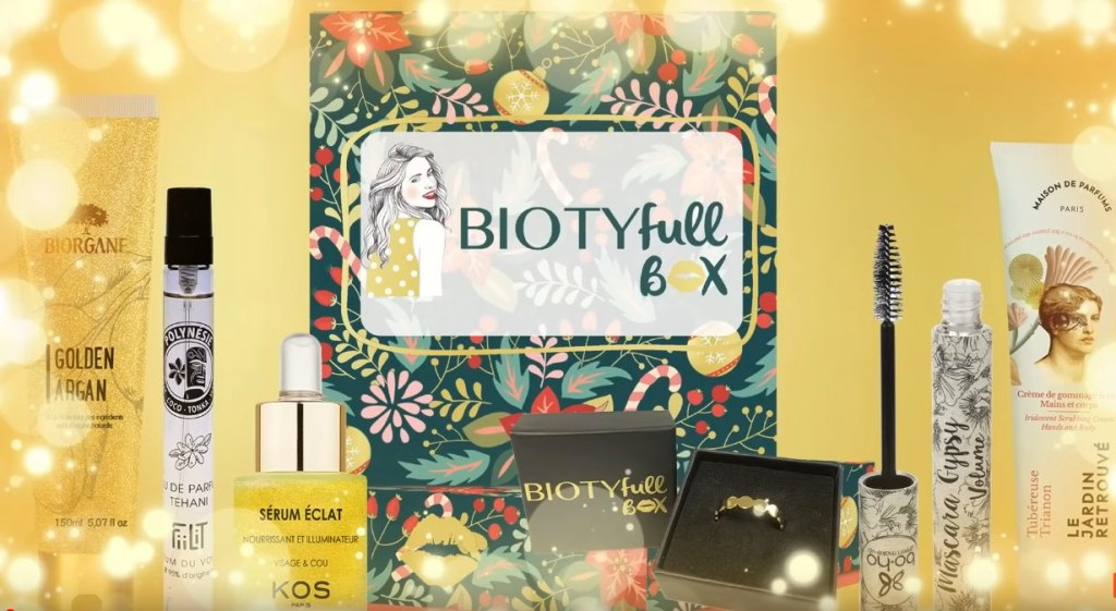 avis contenu biotyfull box decembre 2020