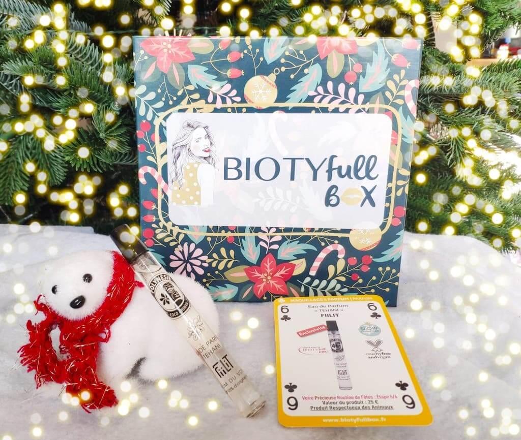Contenu et promo biotyfull box decembre 2020