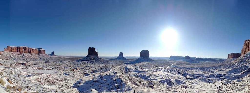 Monument Valley sous la neige 2019