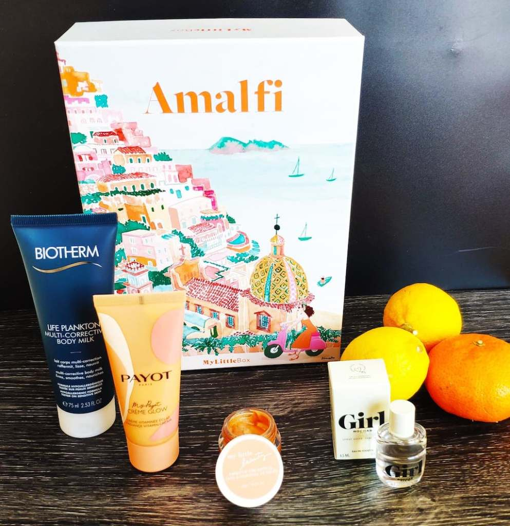 Spoiler My Little Box Avril 2021 Amalfi Contenu Code Promo 5€