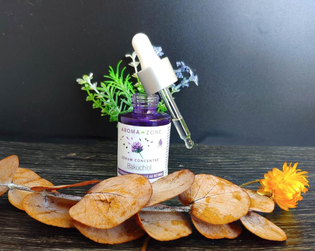Avis test serum bakuchiol aroma-zone