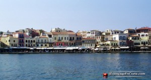 Voyage en Crète Port de HANIA (La Canée)