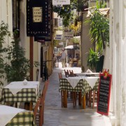 Voyage en Crète rue de HANIA (La Canée)