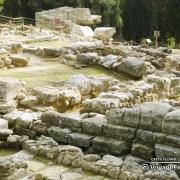 Site archéologique de lemnos Crete island