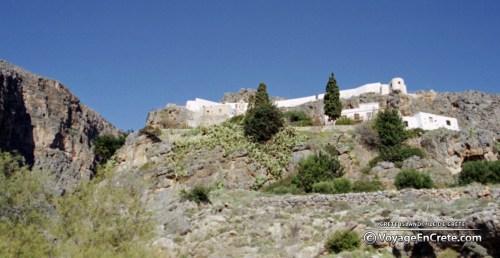 Crete Island, Moni Kapsa Gorges Canyon
