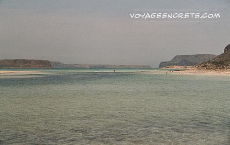 Randonnées en Crète : la plage de Gramvoussa