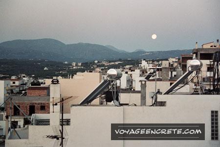 Panneaux solaires à Sitia en Crète