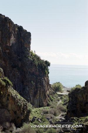 Randonnées en Crète : Les gorges de Xérokambos