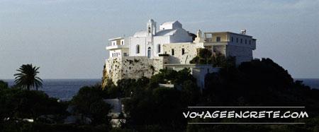 Moni Chrissoskalitissa en Crète