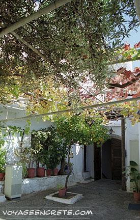 Moni Kapsa en Crète