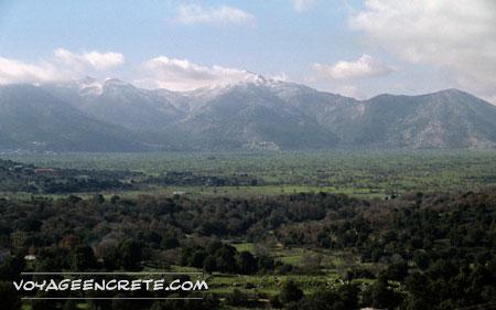 Randonnée en Crète : Plateau du Lassithi
