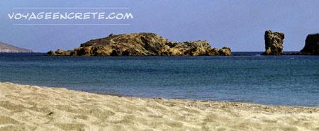 Ballade en Crète : la Plage de Vaï
