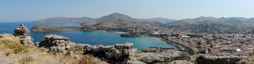 La citadelle de Myrnia - Ile de Lemnos