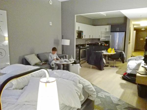 chambre QandA hôtel