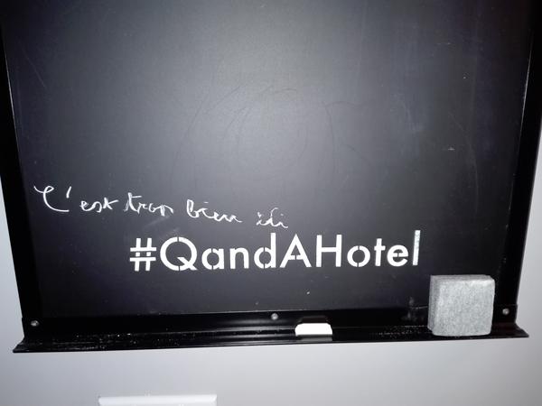 QandA hôtel