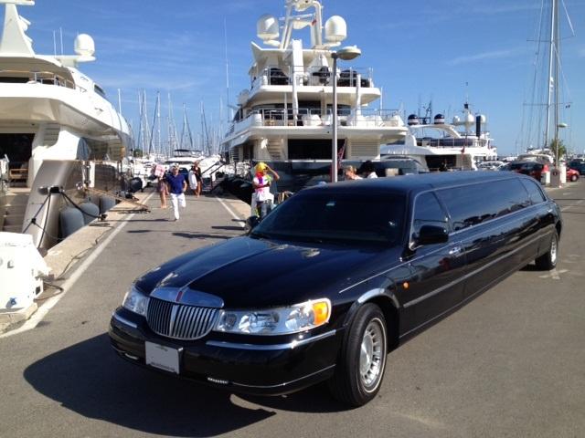 limousine avec chauffeur dans les alpes-maritimes