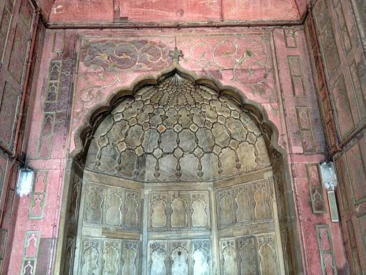 jama masjid old delhi brass details