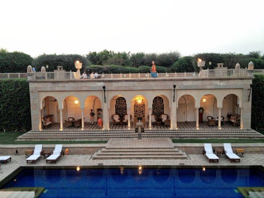 oberoi amar villas pool
