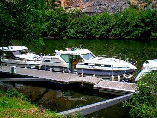 Peniche docked
