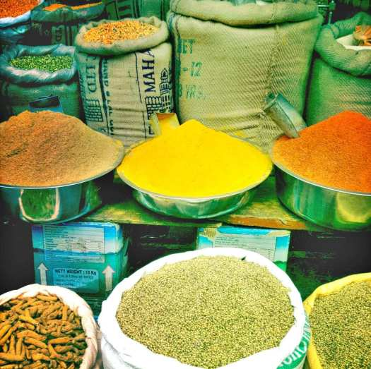 More spices Udaipur Market