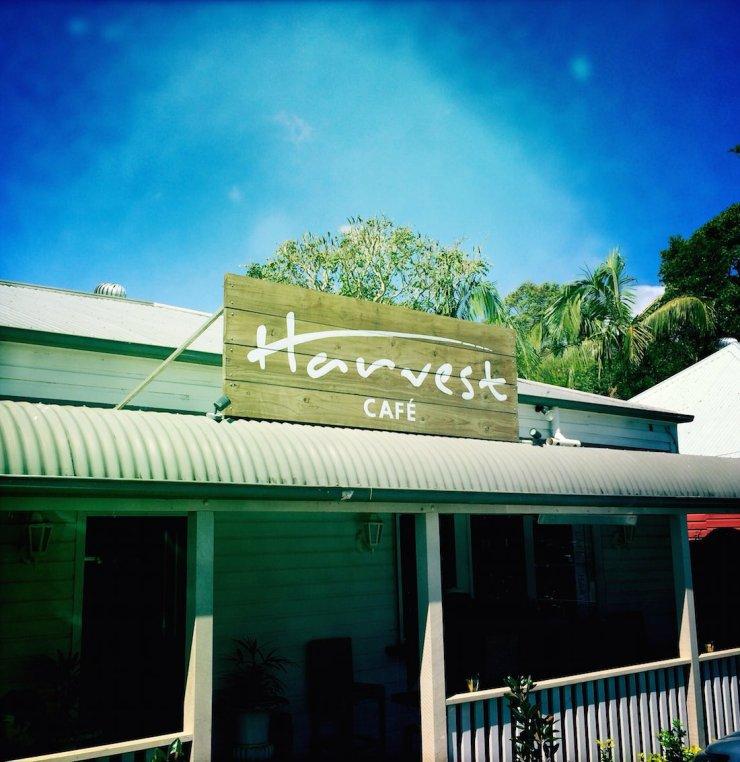 harvest cafe newrybar