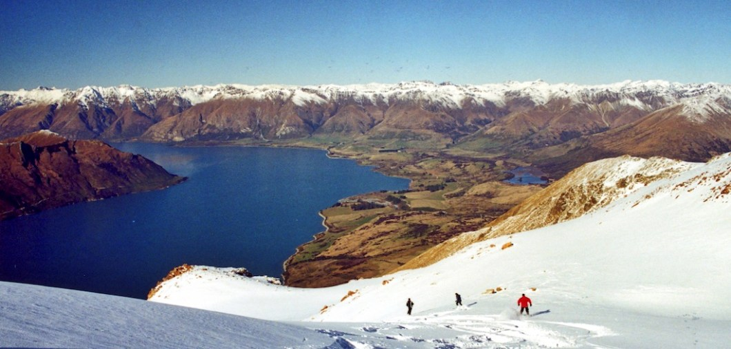 heliskiing in Queenstown