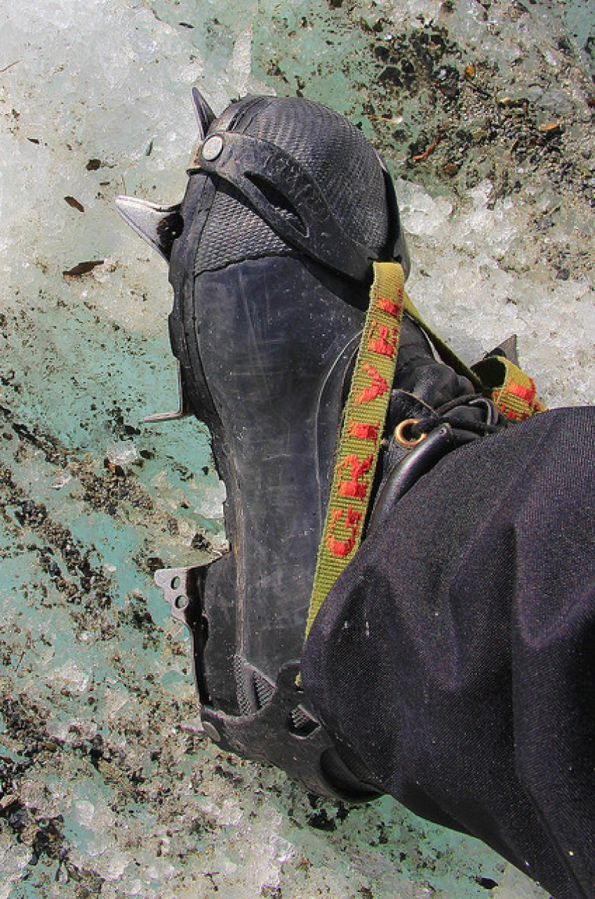 Crampons, Franz Josef Glacier, South Island, New Zealand - Taken by Diann Corbett, 09/2014.