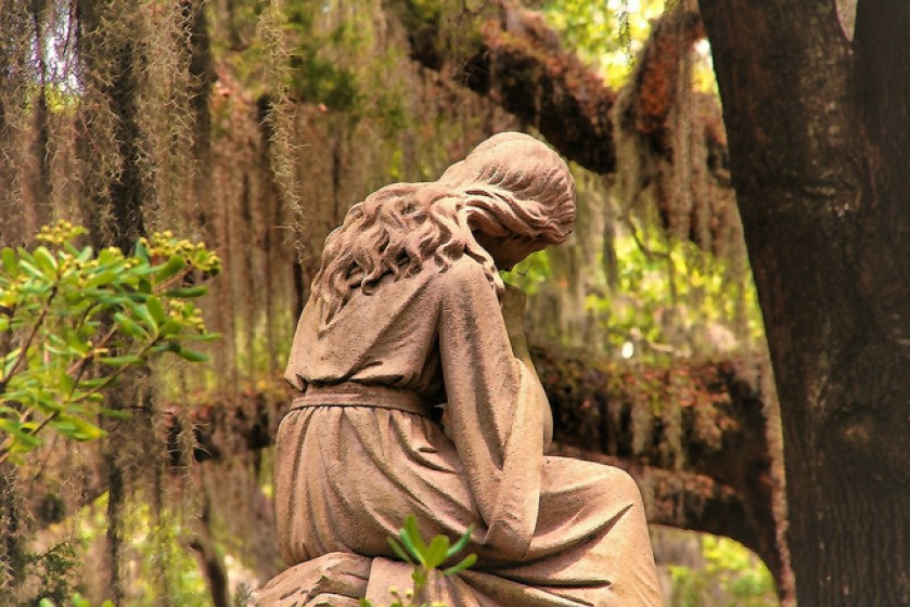 Bonaventure Cemetery, Savannah, Georgia, Taken by Diann Corbett, 05/2012.