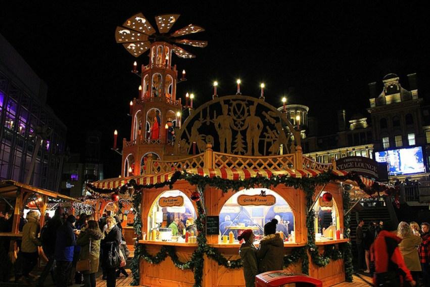 Christmas Market in Manchester, England - Taken by Diann Corbett, 11/2013.