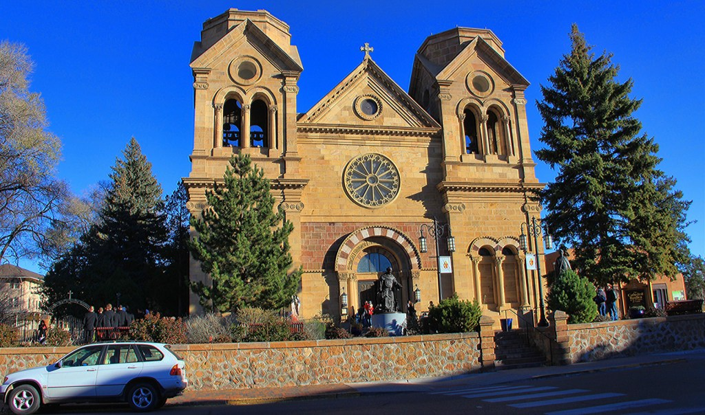 Cathedral, Sante Fe, NM - Taken by Diann Corbett