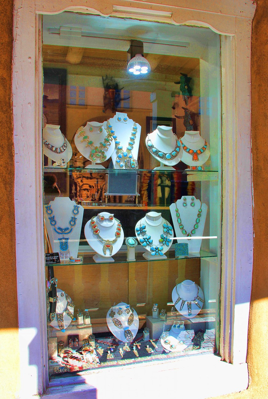 Jewelry Store, Sante Fe, NM - taken by Diann Corbett