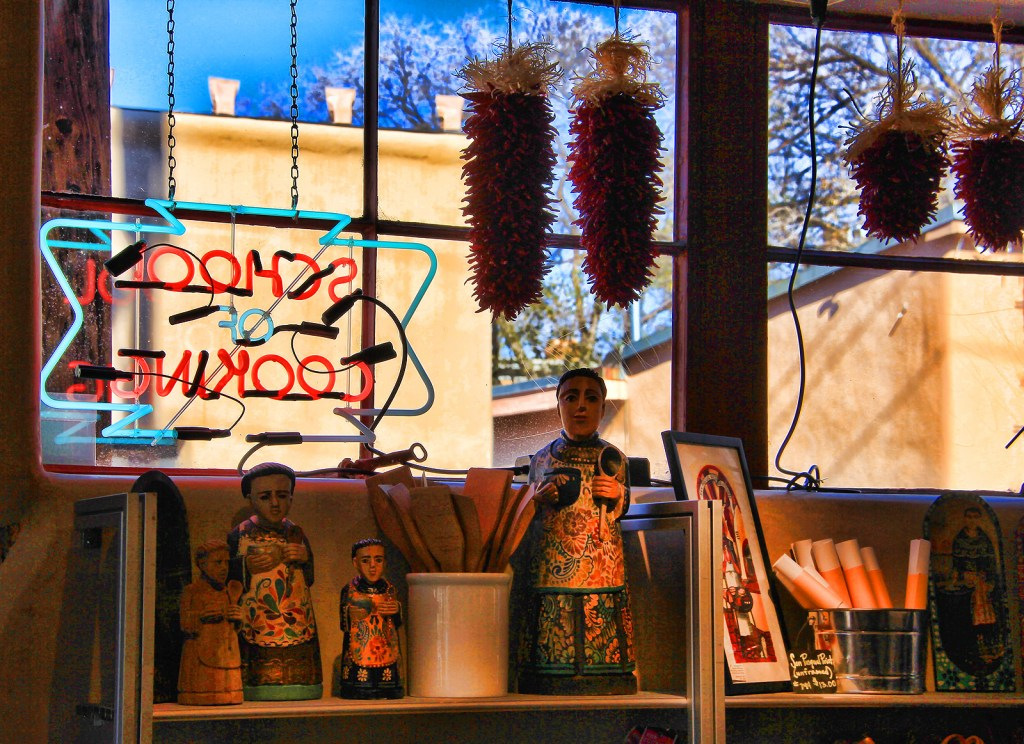 School of Cooking Store, Sante Fe, NM - Taken by Diann Corbett, 11/2015.