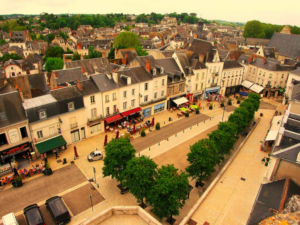 Town of Amboise, Loire Valley, France - Taken by Diann Corbett, 05/2009