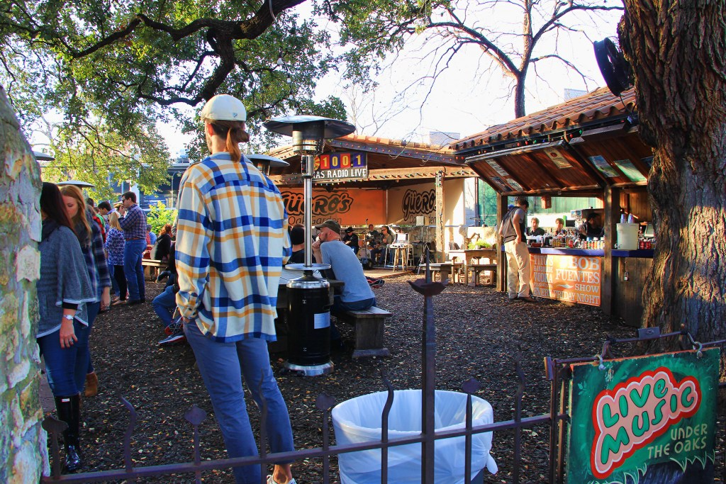 Outdoor Bar, SOCO, Austin, TX - taken by Diann Corbett, 12/2015.