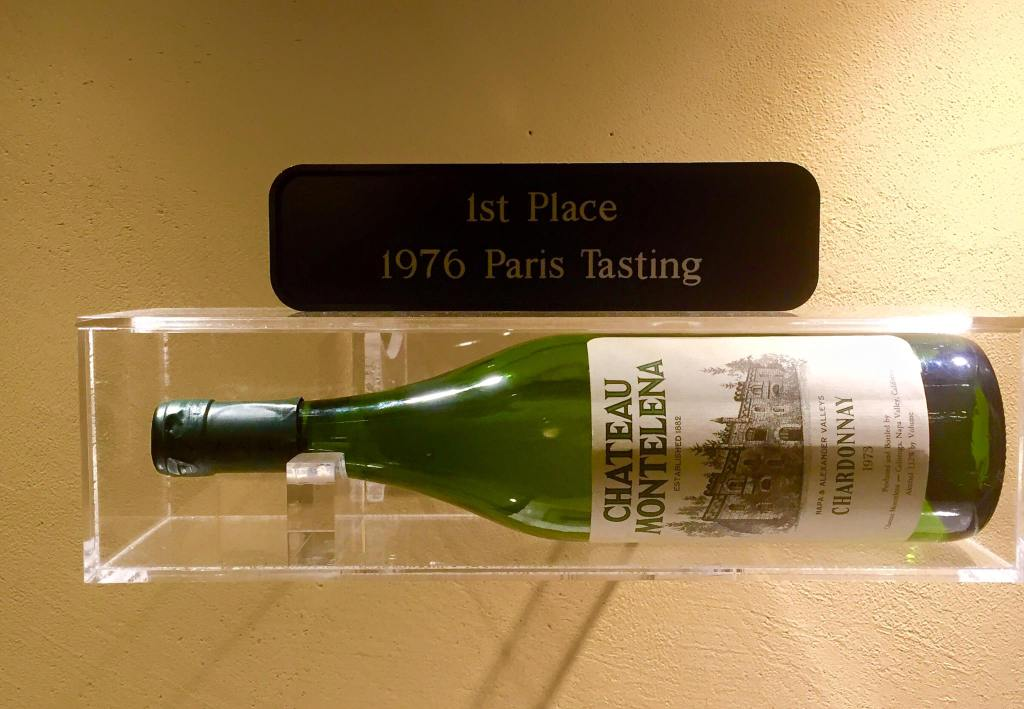 The winning year of Château Montelena.