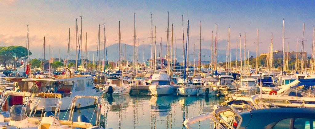 Antibes Harbor, France