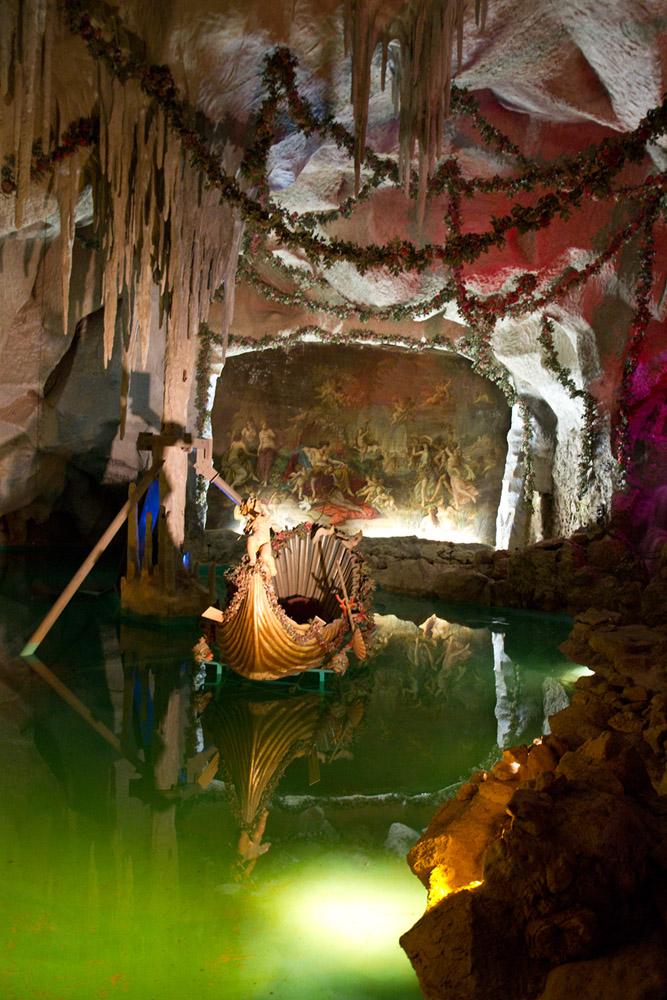 Linderhof.-Grotte de Vénus-1
