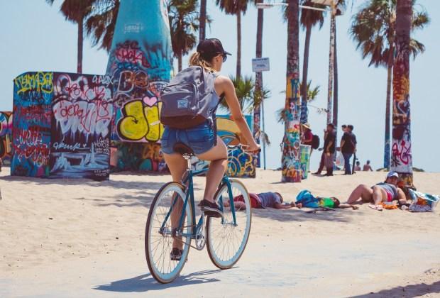 plage à Los Angles
