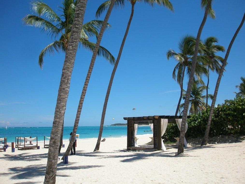 magnifique plage en République Dominicaine