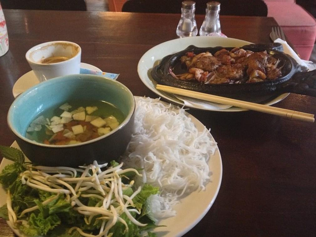 restaurant à Hanoï